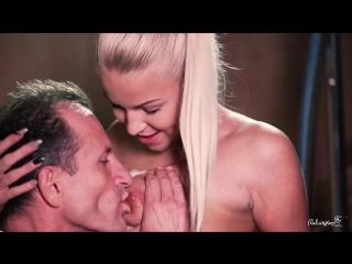 Karol lilien (beautiful czech blondie karol lilien fucks fitness instructor by the stairs)[2017, cumshot, hardcore, sex, 1080p]