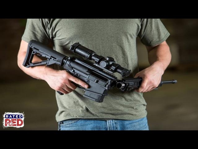 FD Defense's XAR Invicta Folding AR-15