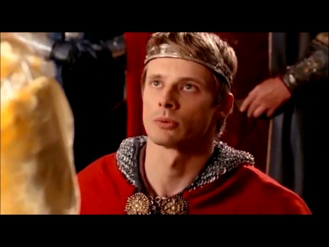 Arthur Pendragon and Morgana