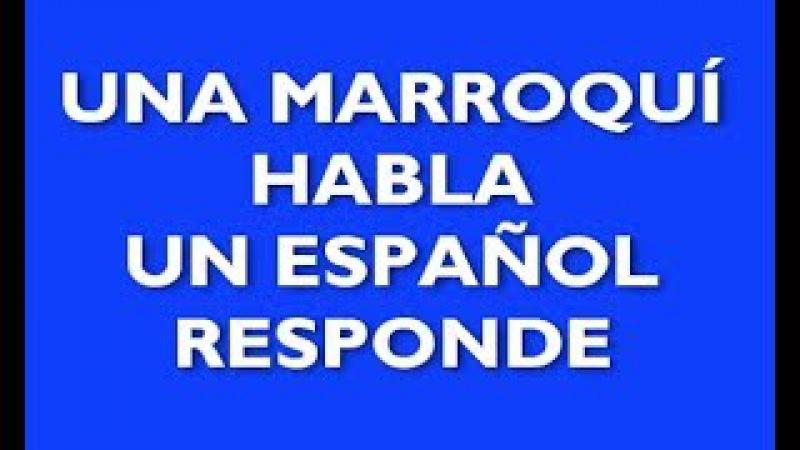 Una musulmana habla un español contesta