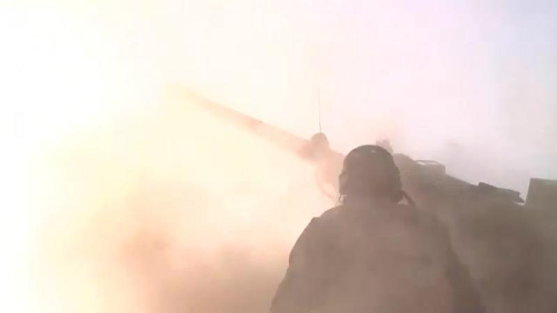 Французские самоходчики под Мосулом