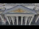 Аэросъемка Казанского собора Санкт Петербург