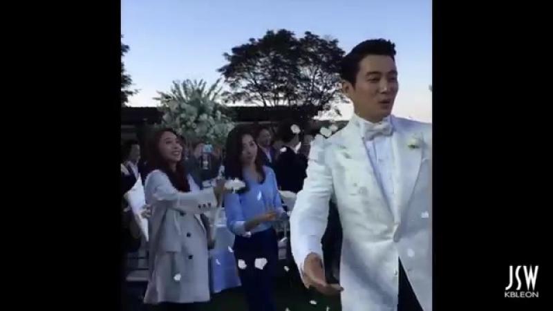Joo Sang Wook and Cha Ye Ryun Wedding 2