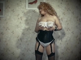 The skin trade vintage 80 s big tits blonde strip dance