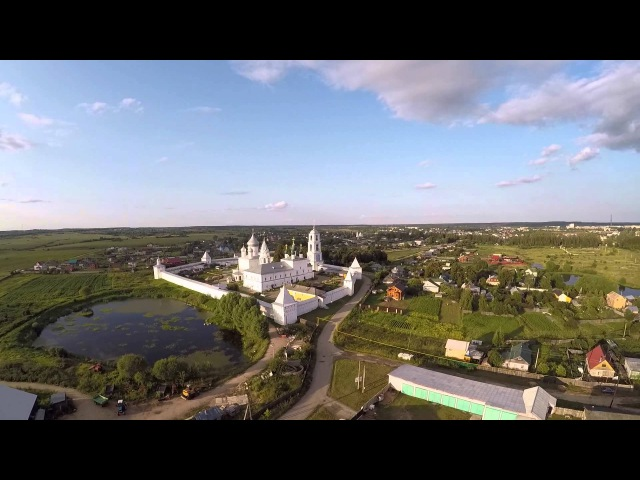 Вид сверху. Переславль-Залесский. Полёт квадрокоптера DJI Phantom 2.