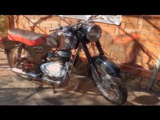 Реставрация венгерского мотоцикла Паннония Т5 (Restoration of the Hungarian Pann