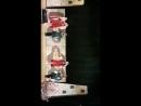Парный танец на сцене солисты средней танцевальной группы Горяночка Амина Цагова и Амир Жамбеков Аксана Янукаева и Астемир А