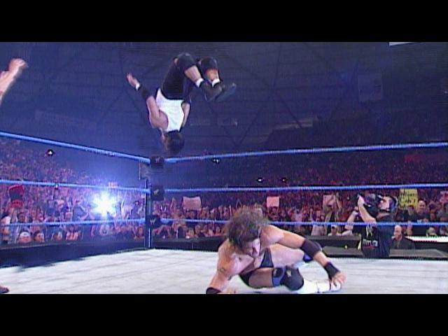 Gregory Helms vs Billy Kidman WCW Cruiserweight Championship SmackDown July 5 2001