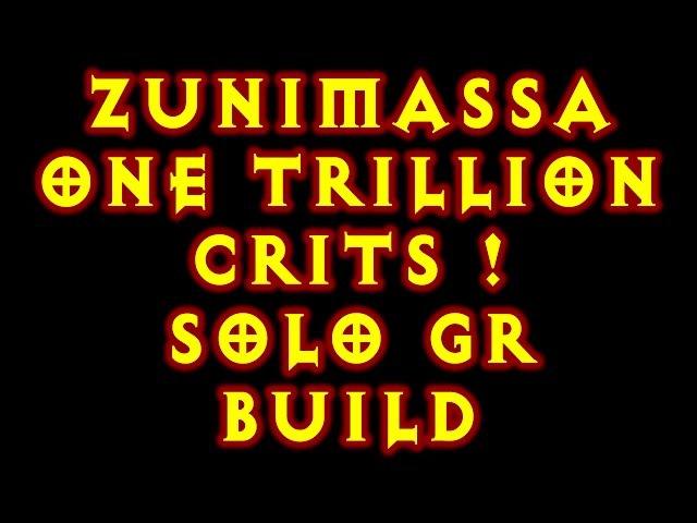 Diablo 3 Zunimassa Garg CoE Solo Greater Rifting 2 5 0