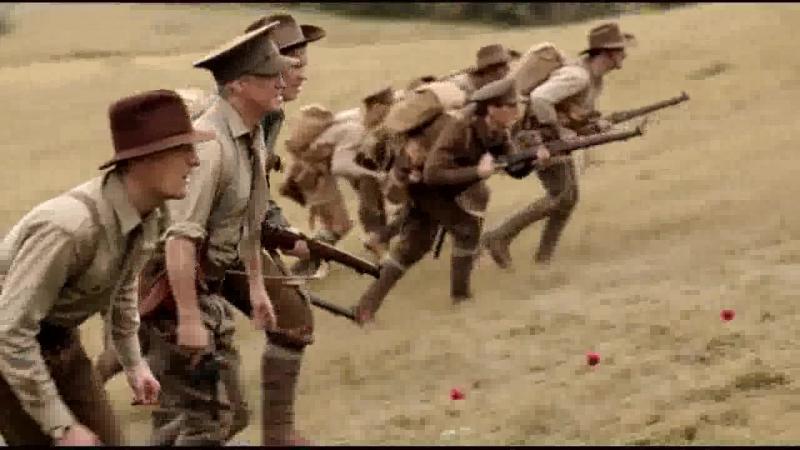 Галлиполийская история 2015 Бой австралийцев с турками на Галлиполийском полуострове