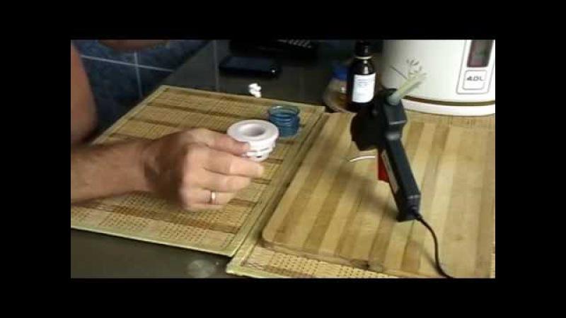 Пивная кега,переделанная для браги с гидрозатвором для многоразового пользования