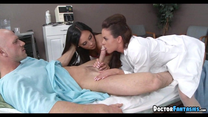 Two Hot Nurses Share His Dick, Free Two Dicks Hd Porn Bb