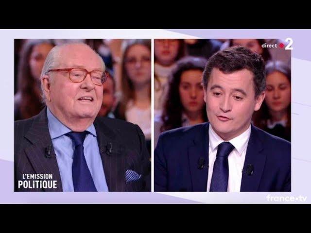 Jean Marie Le Pen Emission politique France 2
