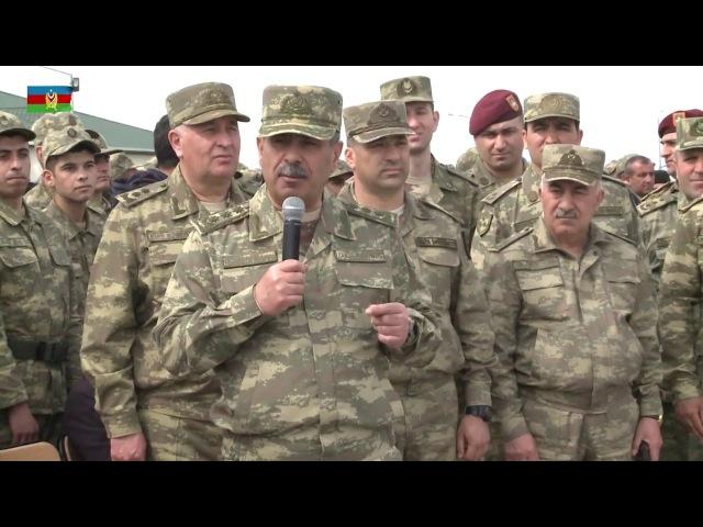 Valideynlər hərbi hissələrdəki şəraitə görə Ali Baş Komandana minnətdarlıq bildiriblər - 20.03.2018