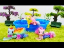 Minişler MyLittlePony Denizkızı ponyler göle gidiyorlar çizgifilmoyuncakları