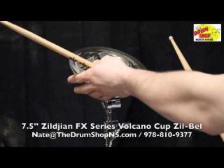 Zildjian FX Series Volcano Cup Zil-Bel 7.5'' - The Drum Shop North Shore