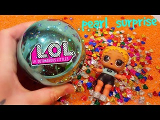 Pearl Surprise LOL! Кукла ЛОЛ и БАРБИ: ЖЕМЧУЖНЫЙ ЛОЛ Сюрприз #Куклы ЛОЛ LOL Dolls Confetti POP