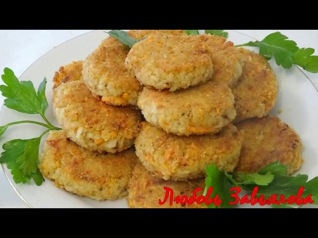 Овсяные котлетки вкусно и полезно постный рецепт Cutlets from oatmeal