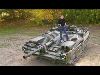 Внутри танка Strv 103C _ С-танк