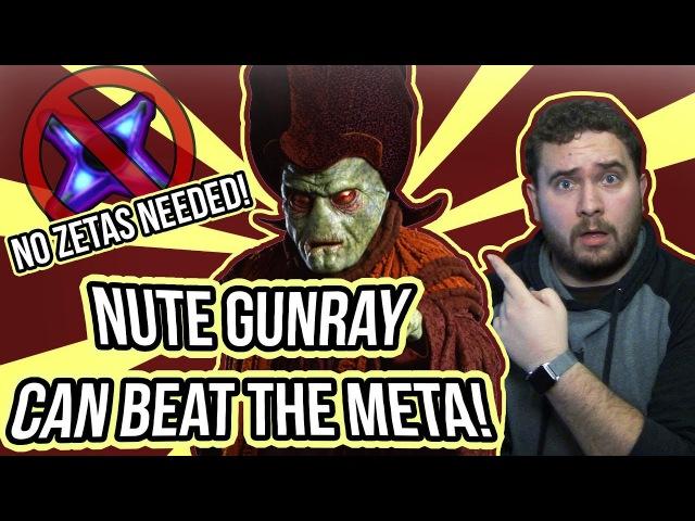 Nute Gunray Can Beat The Meta No Zetas or Kenobi Needed Star Wars Galaxy of Heroes