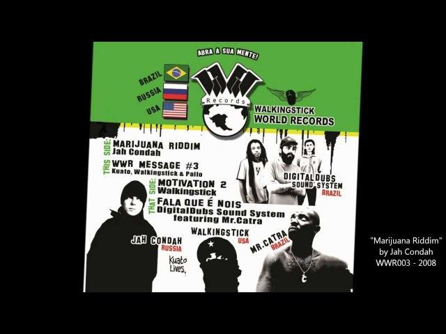 Marijuana Riddim Jah Condah Walkingstick World Records 003