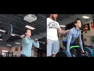 Joanna Jedrzejczyk training for UFC 223 | Training World