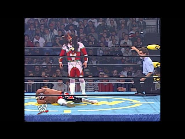 WCW Starrcade 1996 Rey Mysterio vs Jushin Thunder Liger