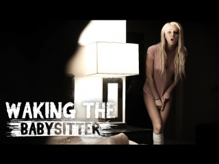 Tiffany watson - waking the babysitter (blonde, piercings, big tits, hardcore, natural tits, anal fingering, fingering)