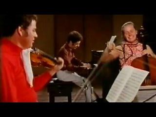Schubert Piano Quintet D667/The Trout/Jacqueline du Pré, Barenboim, Perlman, Pinchas