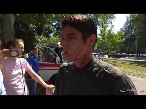 В Одессе напали на главу Автомайдана Виталия Устименко