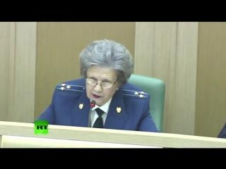 Научи хорошему _ Неудобные вопросы в Совете Федерации