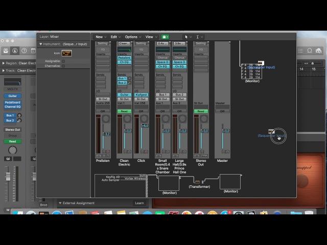 Музыкальный детектив Logic Pro X MIDI автоматизация