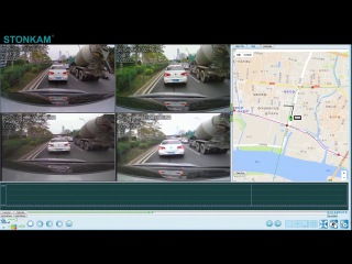 STONKAM® MDVR GPS Tracking Demo Video