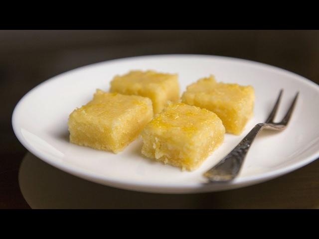 Лимонные брауни Lemon Brownies