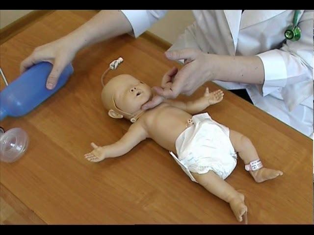 Реанимация новорожденных © Reanimation of newborns