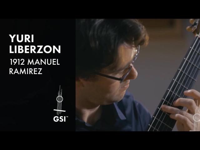 1912 Manuel Ramirez Yuri Liberzon plays Piazzolla Tango Etude No 6