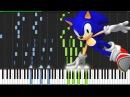 Studiopolis Zone Act 1 Sonic Mania Piano Tutorial Synthesia AqareCover