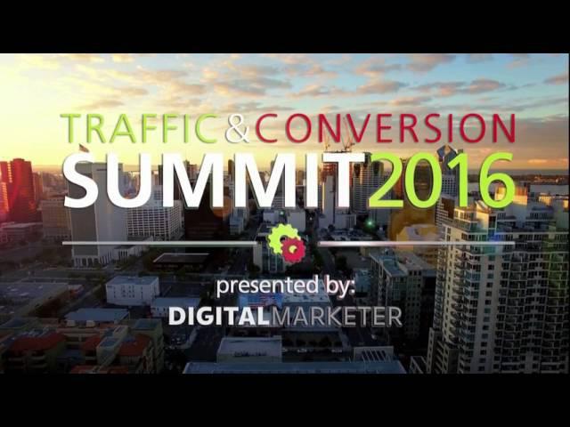 Traffic And Conversion Summit 2016 Ryan Deiss Digital Marketer