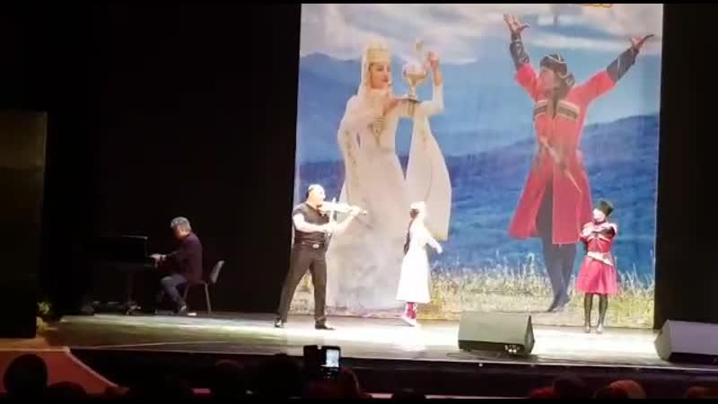Княжеская судьба Хапаланы Чахо авт. Ш.Хапаев скрипка Тигран Петросян