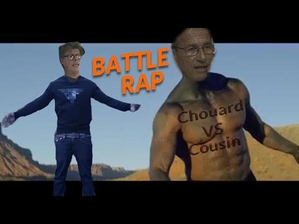 HUMOUR - Battle Rap - Chouard VS Cousin (remasterisé)