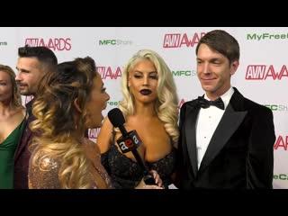 Bridgette B  Markus Dupree_ 2019 AVN Red Carpet Interview