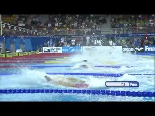 Florent manaudou _ world record 50m backstroke _ 2014 fina world swimming champi