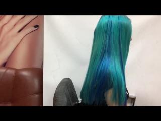 Цветные пряди волос на заколке, крепление. Как крепить пряди волос на заколке