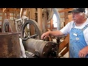 1912 Fairbanks - Morse 15 HP Hit And Miss Engine And Two Stamp Mill Demonstration