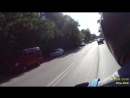 поездка на скуторе грейс в двоём видео снято вторым пилотом 17 06 2018г в Арзамасе часть 1