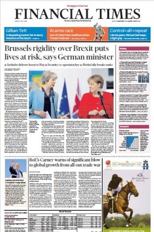 Financial Times Europe - 20180706
