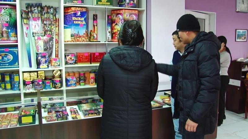 Бир эле кытайлык ишкер жылына КРга 400 тонна салют сатат / 17.12.18 / НТС