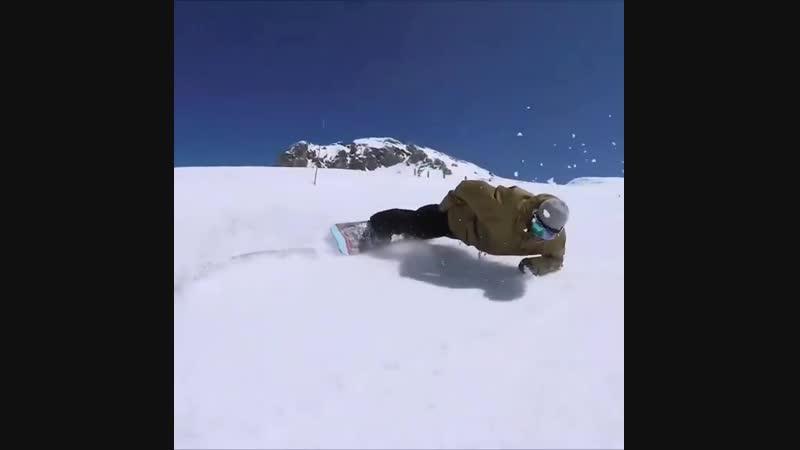 Plech карв 📽 @tylerchorlton сноуборд сноубординг snowboard snowboarding