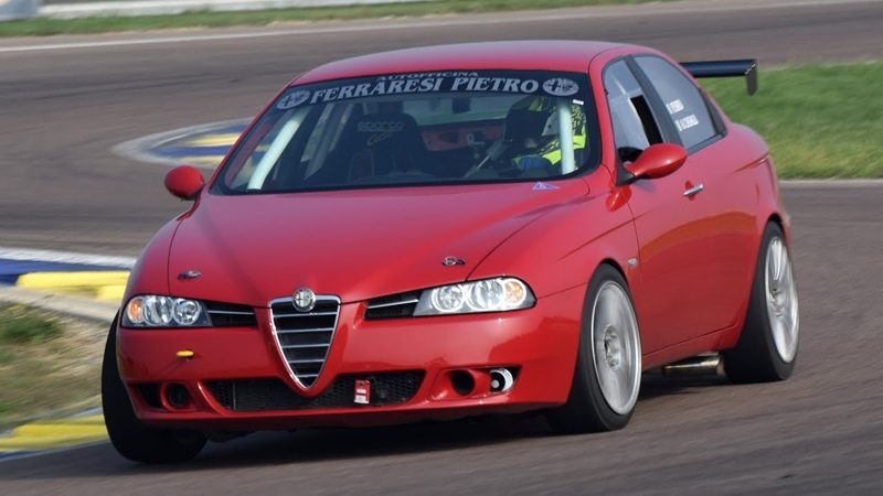 Alfa Romeo 156 V6 3 0 Busso Pure engine sound on track on board