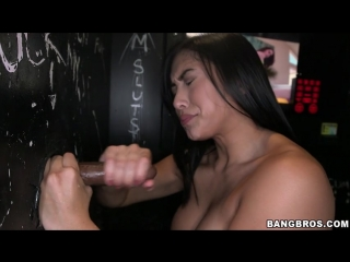 Mia Li - GloryHoleLoads - Mia Sucks a lot of dicks November 20, 2013